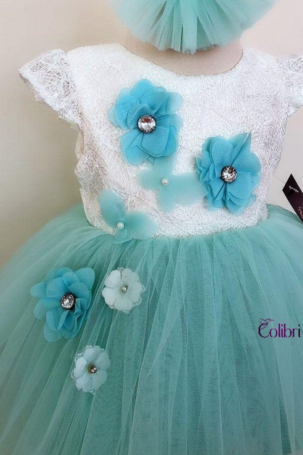 Rochita albastra pentru fetite