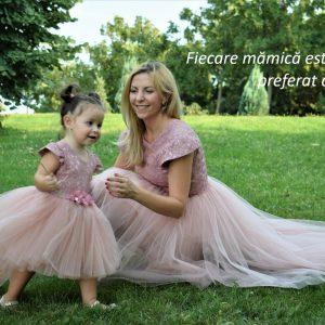Rochii Mama Fiica botez