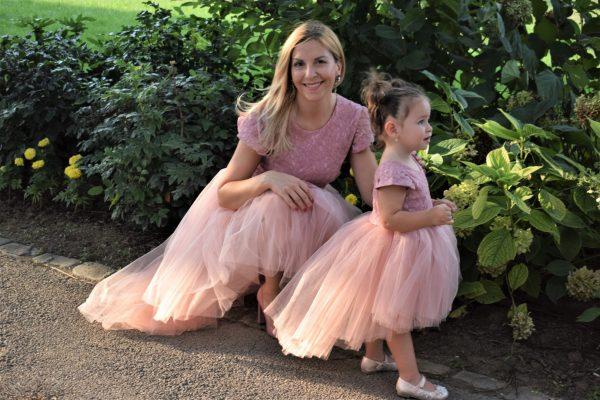 Rochite identice Mama Fiica