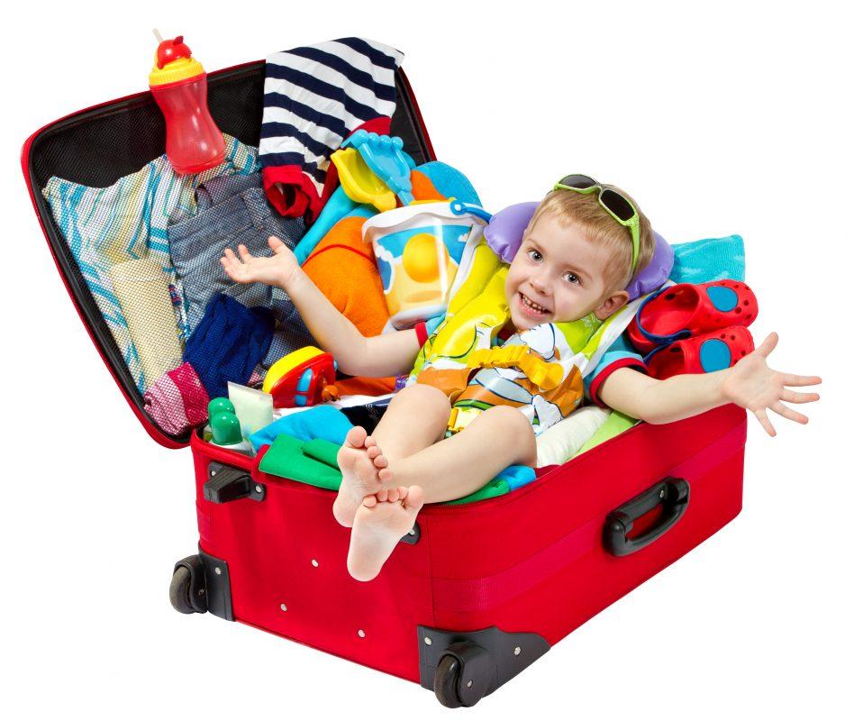 recomandari pentru bagajul copiilor
