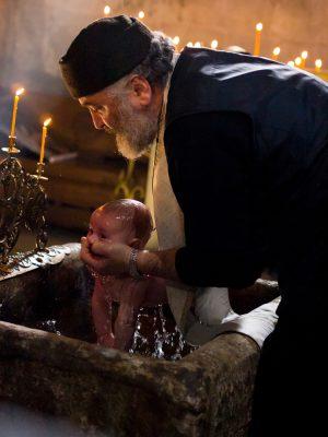 scufundarea in cristelnita la botezul ortodox